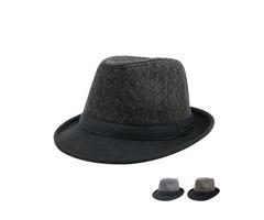 Fashion Flat Brim Mens Jazz Hat