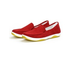 Round Toe Soft Sole Lightweight Slip On Flat Loafers