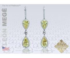 Get best quality handmade diamond earrings
