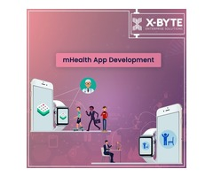 Best mhealth mobile app development service company in USA   X-Byte Enterprise Solutions