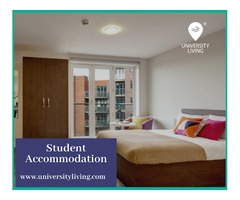 Find your spacious and fully furnished student accommodation at Logan Square