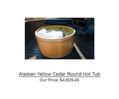 Get Classic Wooden Hot Tubs for your Backyard