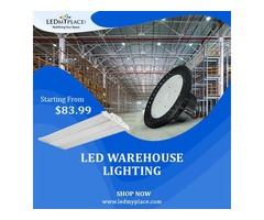 Purchase Led Warehouse Lighting On Discounted Prices