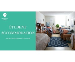 Find your spacious and fully furnished student accommodation at Campus Towers