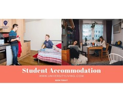 Find your spacious and fully furnished student accommodation at Paramount 3800 Ph I