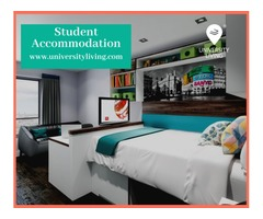 Find your spacious and fully furnished student accommodation at Gather Uptown Apartments