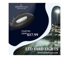 Make a Street Beautiful By LED Yard Lights
