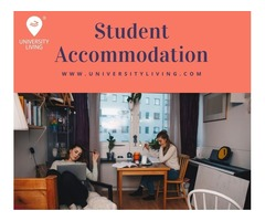 Find your spacious and fully furnished student accommodation at Campus Circle