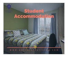 Find your spacious and fully furnished student accommodation at 901 Western