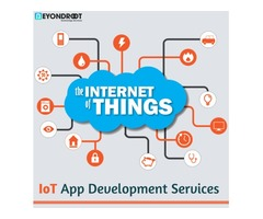 Improve business operations with our IoT app development services