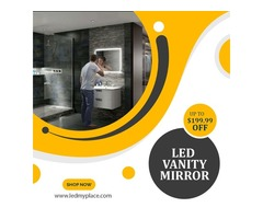 Make Your Bathroom Beautiful with LED Vanity Mirrors