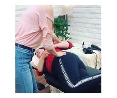 Chiropractic Adjustment - Dr. Monica Scott