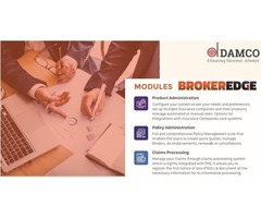 Choose the Best Insurance Broker Software- BrokerEdge | Damco Solutions