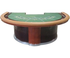 Shop for Deluxe Baccarat Round Poker Table Online