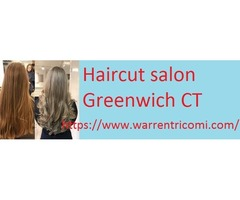 Haircut salon Greenwich CT- Warrentricomi
