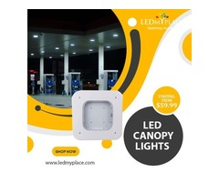 Purchase Now Led Canopy Lights on Discounted Price