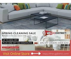 Buy Decorative Area Rugs at 80% Off