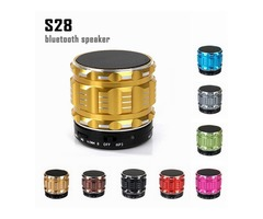 Portable Wireless Bluetooth Speaker S28 with Built in Mic TF Card Handsfree Mini Speaker with Retail