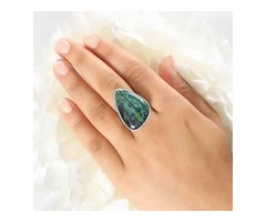 Buy Azurite Malachite Stone Jewelry Online At Wholesale Price | Sanchi and Filia P Designs