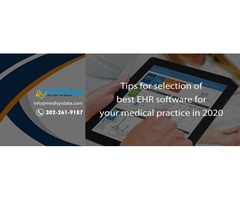 Tips for selection of best EHR software for your medical practice in 2020