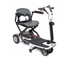 Explore Outdoors Comfortably on Folding Mobility Scooters