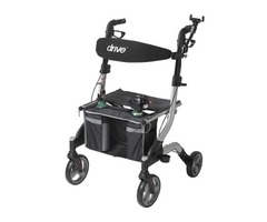 Drive I-Walker Rollator with Respiratory Kit