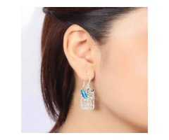 Buy Blue Topaz Stone Jewelry Online At Wholesale Price | Sanchi and Filia P Designs