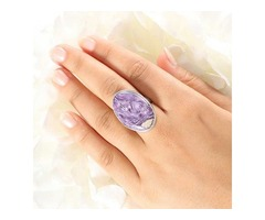 Buy Charoite Stone Jewelry Online At Wholesale Price | Sanchi and Filia P Designs