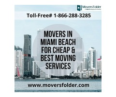 Movers in Miami Beach for Cheap & Best Moving Services