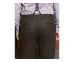 Buy Slim Fit Tailored Trousers | Bykowski