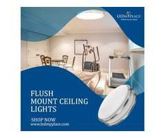 Change Your Mordern homes Looks With Flush Mount Celing Lights