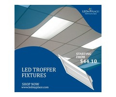 Change Your Mordern commercial space Looks With LED Troffer Fixtures
