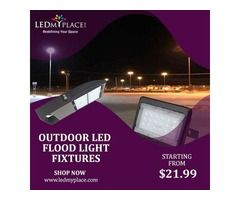 Make your Outdoor Beautiful With LED Flood Lights