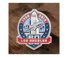 Los Angeles Dodgers Enamel Pins