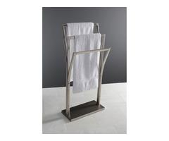Buy Kingston Brass Edenscape Pedestal Y-Style Towel Rack