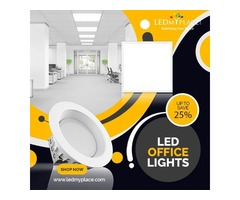 Why We Use LED Office Lighting Fixtures.?