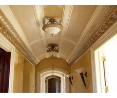 Ceiling and Medallion Finishes