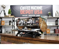 Second-hand commercial coffee espresso machines at low prices