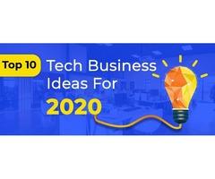 Best Top 10 Trending Tech Startup Business Ideas In 2020 | X- Byte Enterprise Solutions