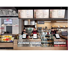 Food Court Digital Signage Solution & Promotional Displays.