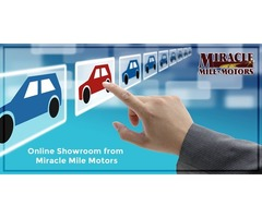 An ideal place to search for your next ride – Miracle Mile Motors
