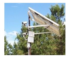 Solar streetlights with security camera
