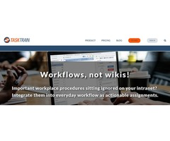 Workflow Automation and Management- TaskTrain