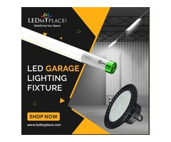 Make your Garage Beautiful With New LED Garage Lighting fixtures