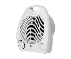 2000W Thermostatic Heater Electric Warmer Air Warm Cool Fan 2 Heat Settings EU Plug
