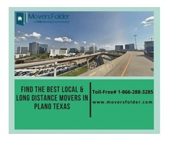 Find the Best Local & Long Distance Movers in Plano Texas