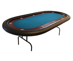 Get Custom Racetrack Texas Holdem Poker Table