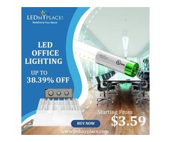 Buy New LED Office Lighting Fixtures On Discounted Offer