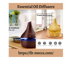 Best aromatherapy diffuser from Fit Mecca