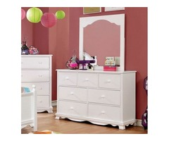 Buy Dani Contemporary Dresser Rainbow Furniture